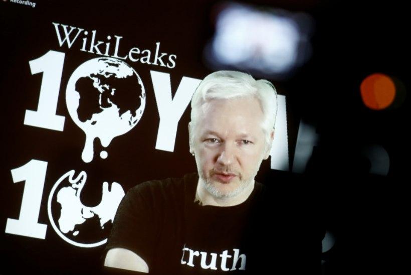 WikiLeaksi asutaja Julian Assange jäeti netiühenduseta