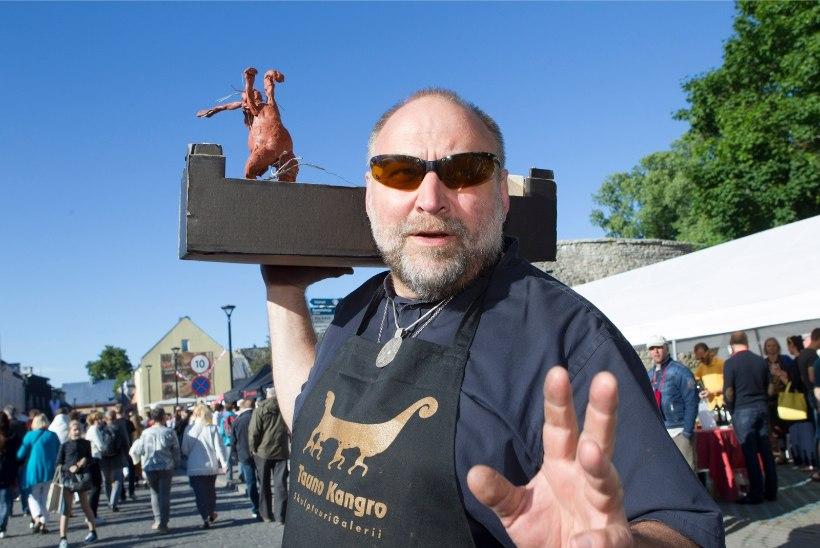 Tauno Kangro tahtis teha Georgi Bõstrovi kuju