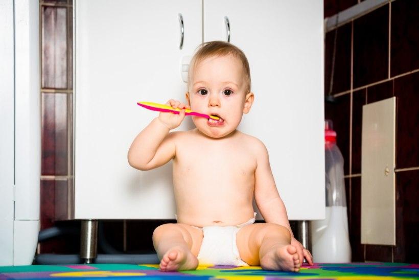 Hambasõbralik käitumine lapseeas tagab terved hambad kogu eluks