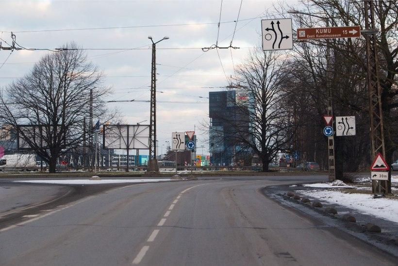 Tallinn võtab korraga ette kolm mahukat tee-ehitust: Reidi tee, Gonsiori tänava ja Haabersti ristmiku