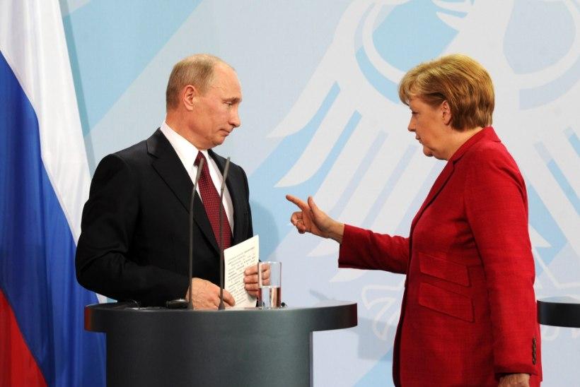 Merkel kutsus Putini tänaseks Berliini