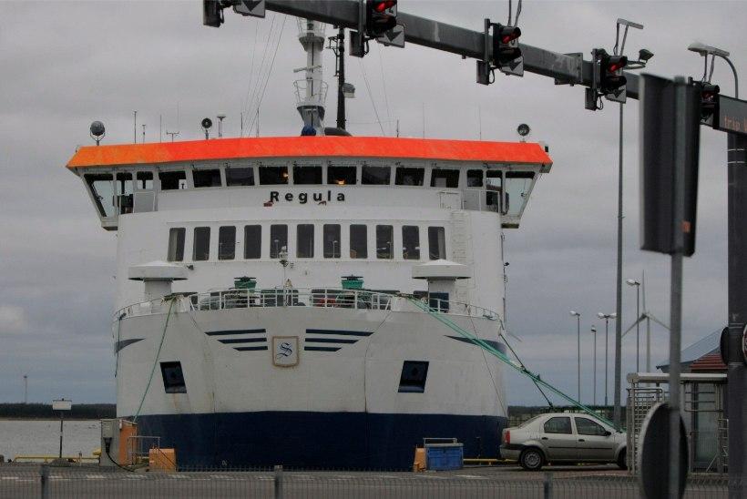 Madal veetase häirib praamiliiklust, kaptenid saavad teha väljumise otsuseid ühe reisi kaupa
