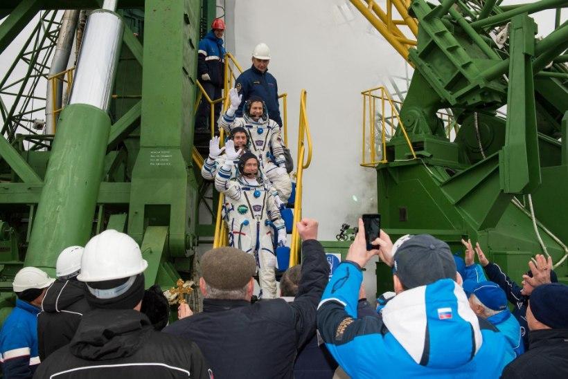 VIDEO | Vaata, kuidas astronaut Shane Kimbrough oma meeskonnaga täna kosmosesse lendas