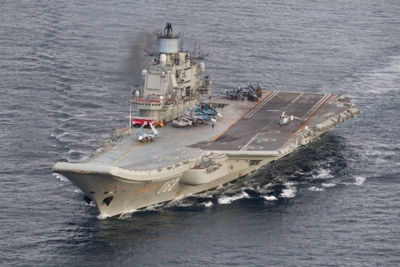 Süüriasse seilav Vene laevastik läbib täna La Manche´i väina