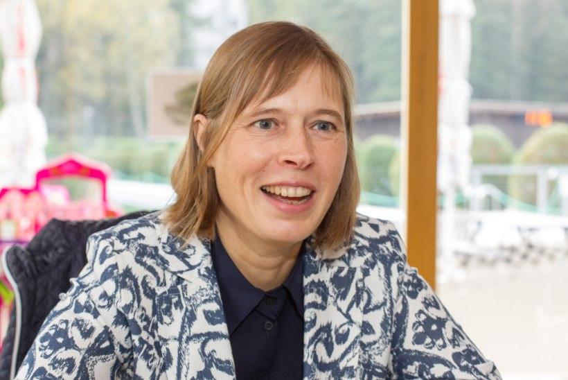 Kersti Kaljulaid: võimalused on ise minu juurde tulnud