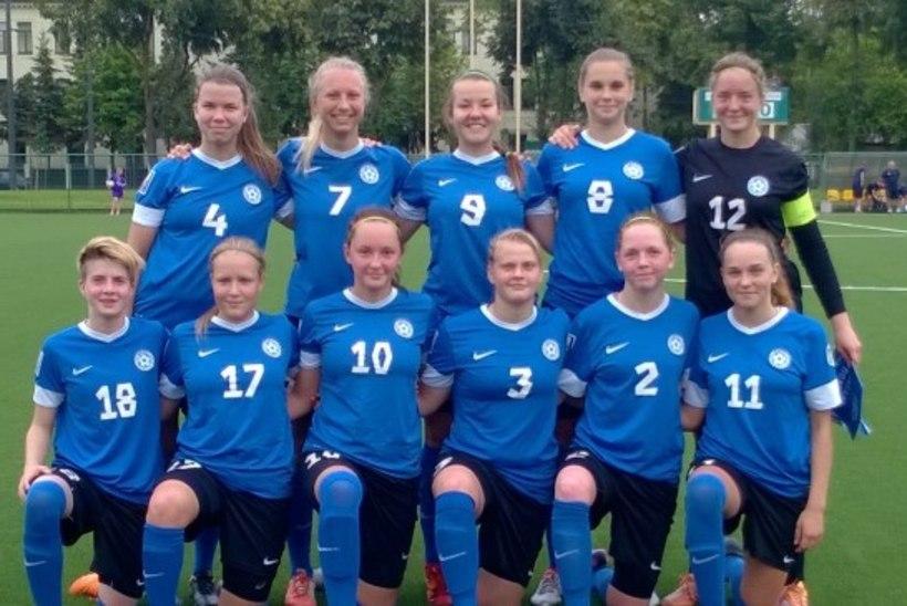 JÄRELEVAADATAV   Neidude U19 ei suutnud Tšehhi vastu ühtki pealelööki sooritada