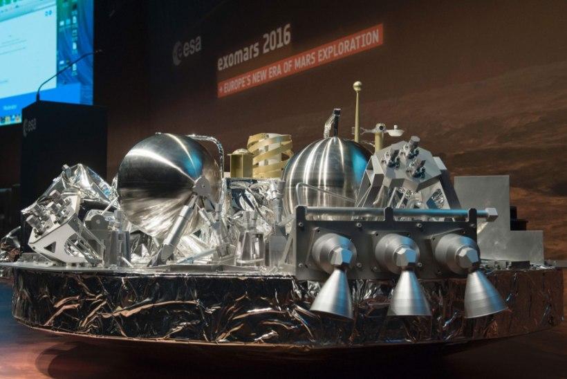 Euroopa kosmoseseagentuur:  Schiaparelli heitis oma pidurduslangevarju liiga vara ära