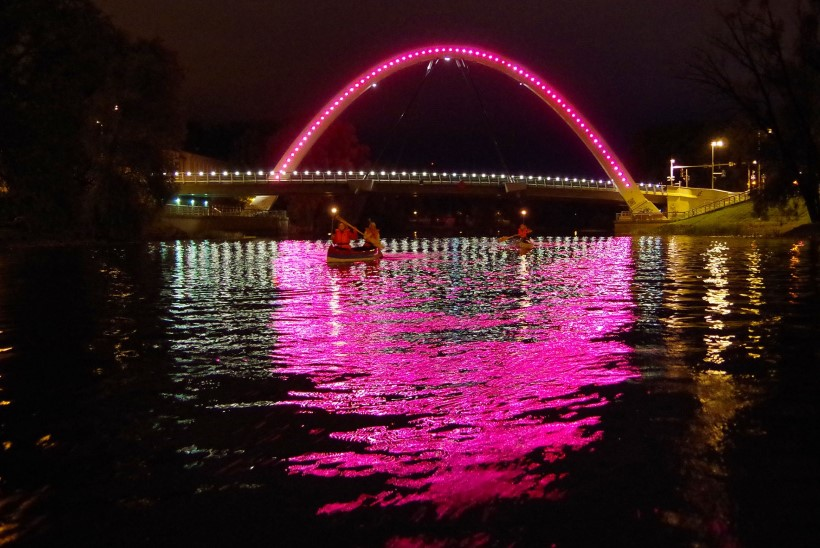 Tartu valgusfestival loob linna maagilise valgustelje