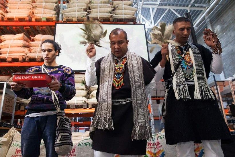 Iidne inkade hõim avas Tallinna külje all kohviröstla