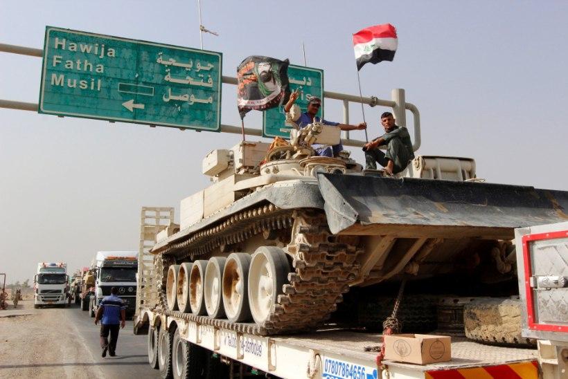 Kättemaks Mosuli eest: Islamiriik ründas Iraagis Kirkuki linna
