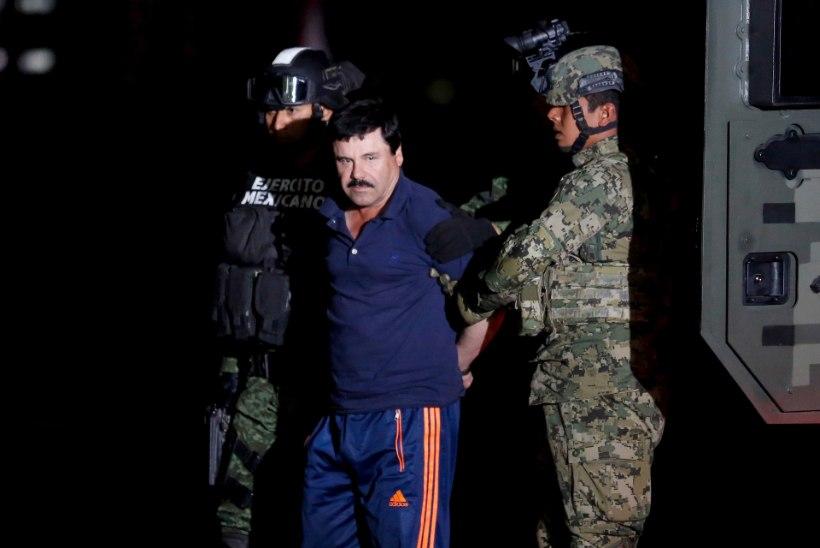 Mehhiko kurikuulsaim kurjategija, narkoboss El Chapo antakse USA-le välja