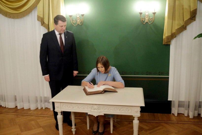 FOTOD JA VIDEO | President Kaljulaid Lätis: meil on ühine nägemus regiooni tulevikust