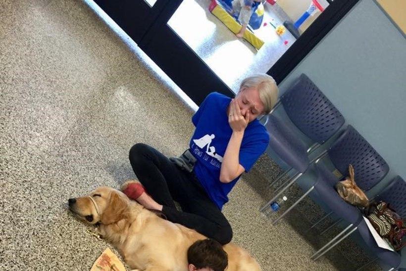 PILTUUDIS | Puudutusi mittetaluv autistlik poiss leidis imelise kontakti koeraga