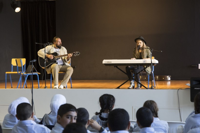 GALERII | Grete Paia esines Liibanonis rahuvalvajatele ja kohtus kohalike lastega