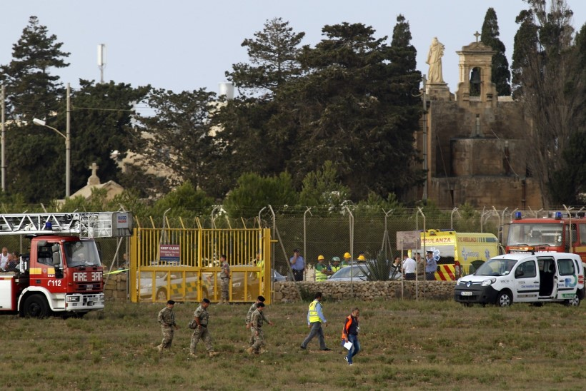 Malta lennuõnnetuses hukkusid Prantsuse kaitseministeeriumi töötajad