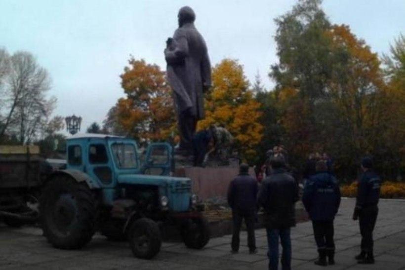 Ukrainas võeti maha viimane Lenin