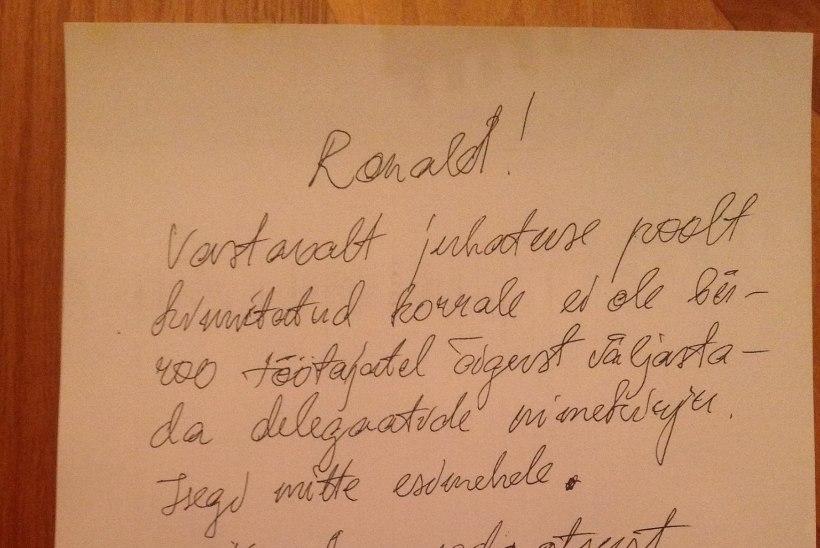 VAATA! Savisaar möllas öösel Facebookis: üles sai Jaak Aabi kiri ja nimekiri etteheidetega