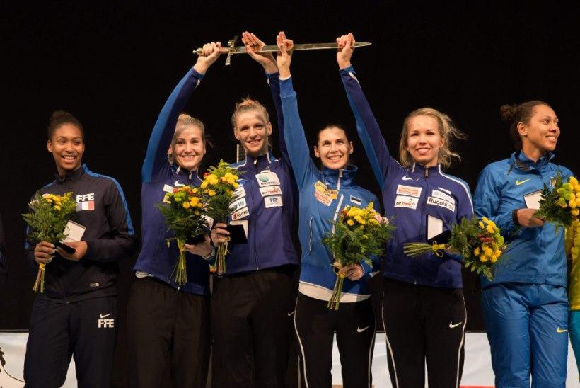 Tallinna Mõõk esimesel katsel võidetud. Mida suutnuks see naiskond Rio olümpial?