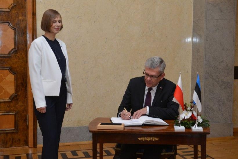 President Kaljulaid: Eestil ja Poolal on sarnane arusaam Euroopa tulevikust