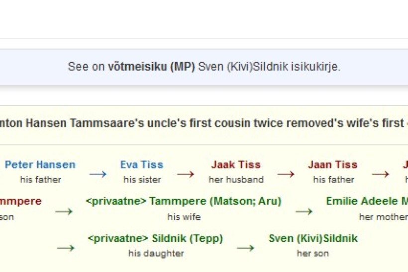 LOE JA IMESTA! Kuidas on praegused tuntud kirjanikud sugupuus Tammsaarega seotud?