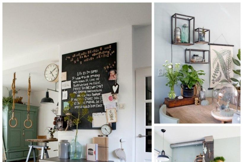 FOTOLUGU   Amsterdami lähistel asuvas kodus on tõeline boholik paradiis