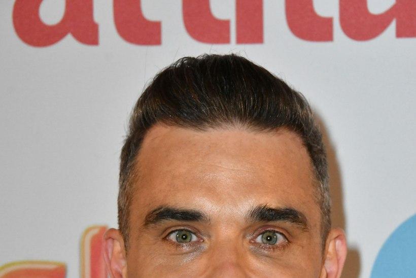 Robbie Williams lasi endale Botoxit ja täiteaineid süstida