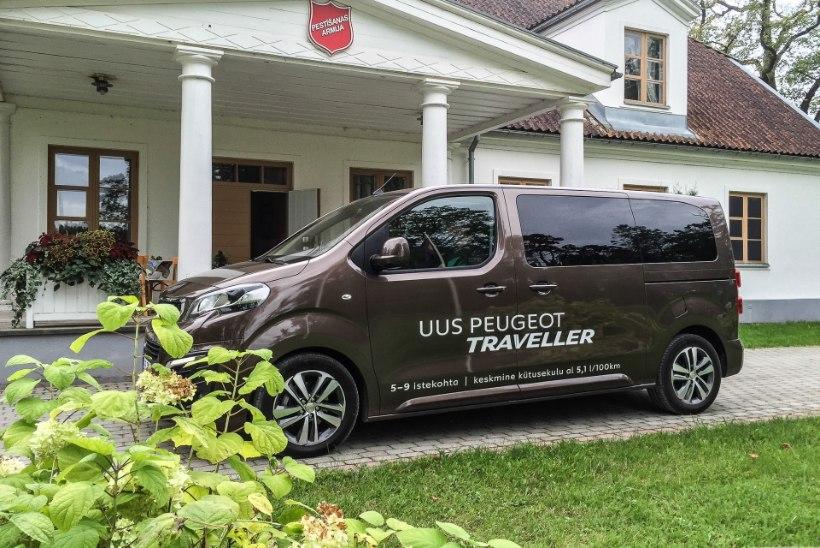 Peugeot Traveller: täiesti ebaprantslaslikult praktiline, aga väga mugav teekaaslane