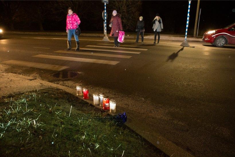 Tallinna ohtlike ülekäiguradade juurde paigaldatakse sünged hoiatustahvlid