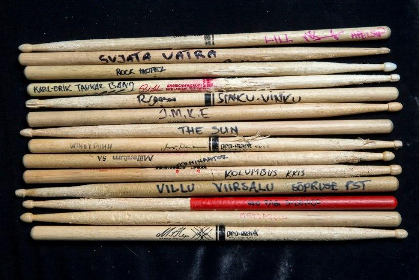 Kirglik trummipulgakoguja: unistan veel Rammsteini trummipulgast