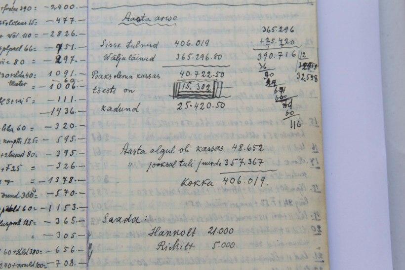 GALERII: Vaata Tammsaare kuulsat mantlit ja moosipotti, kiika tema rahapäevikusse