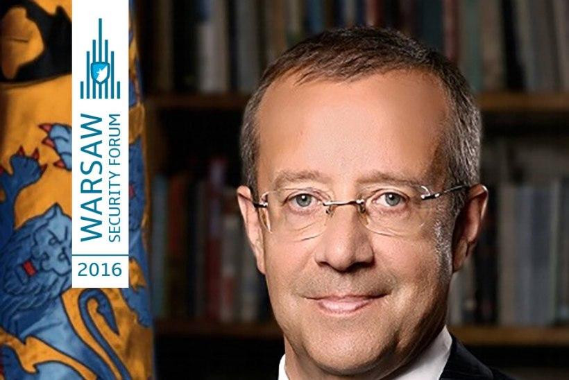 President Ilves sai Vabaduse Rüütli auhinna