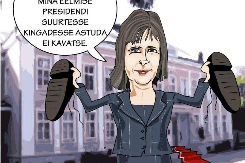 Juhtkiri | Uus president teel rahva poole