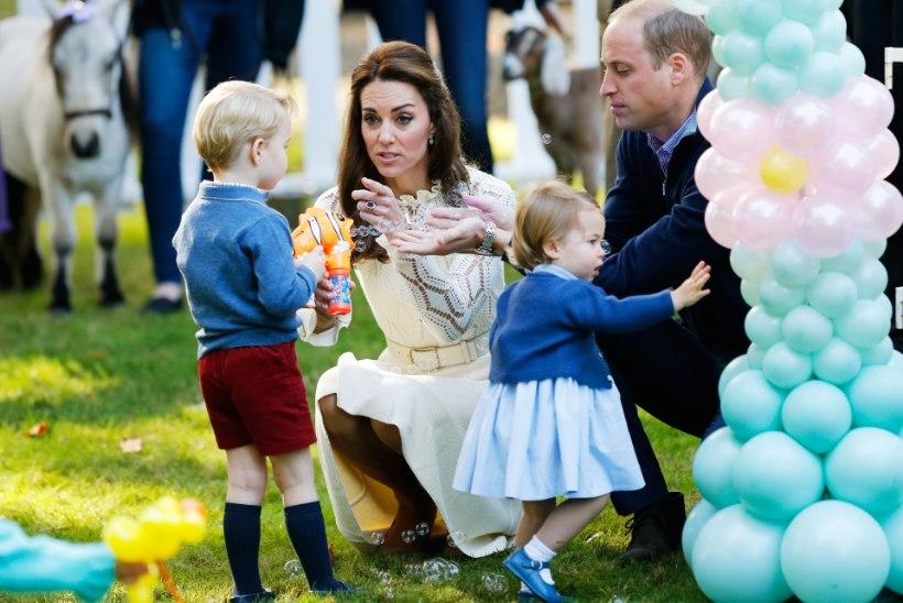 Kensingtoni palee avaldas prints George'ist ja printsess Charlotte'ist kõheda video