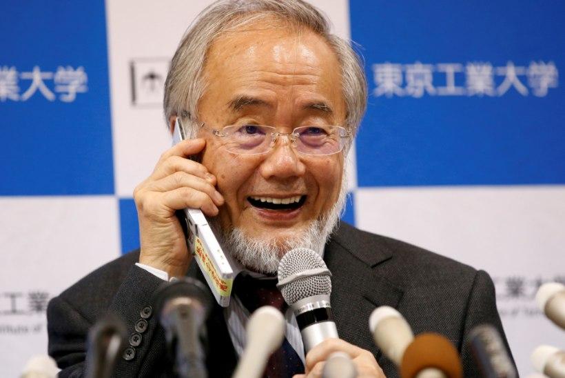 Nobeli meditsiiniauhind läheb Jaapanisse