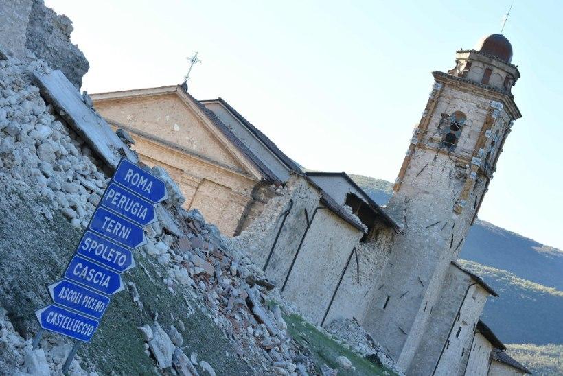 Itaaliat raputanud maavärin külvas riigis paanikat