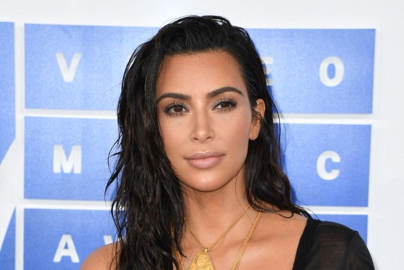 Kim Kardashian kartis, et ta vägistatakse