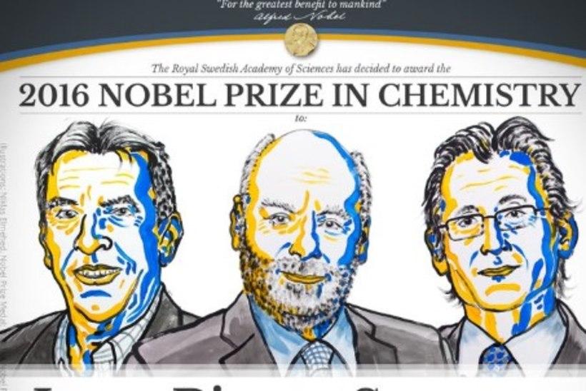Nobeli keemiapreemia said maailma kõige väiksemate masinate loojad