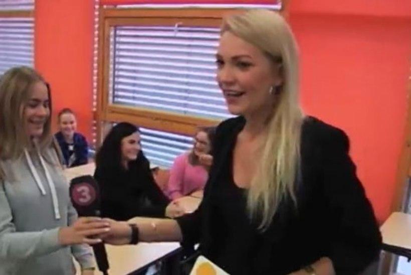 TV3 VIDEO | Telereporter astus õpetajate päeval klassi ette