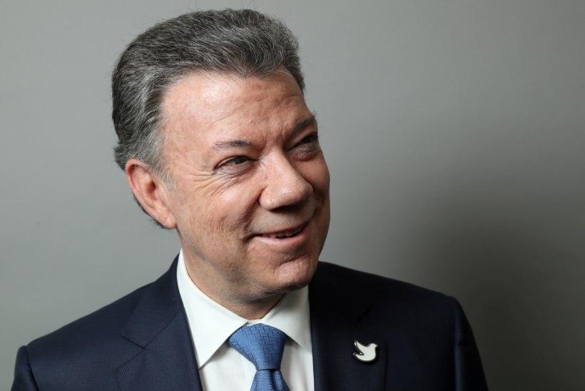 Nobeli rahuauhind läheb Colombiasse