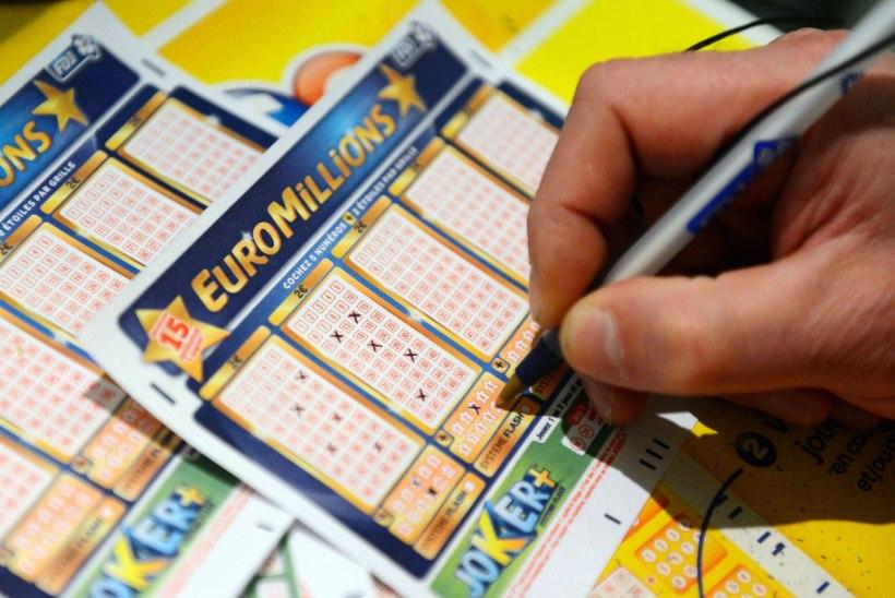 EuroMillionsi ülisuur peavõit teeks võitjast peaaegu sama rikka mehe kui Armin Karu