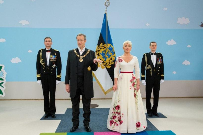Kas presidendi kaasa hüvitis on ajast ja arust? Ingrid Rüütel: see tasu kulub ära riiki esindades.