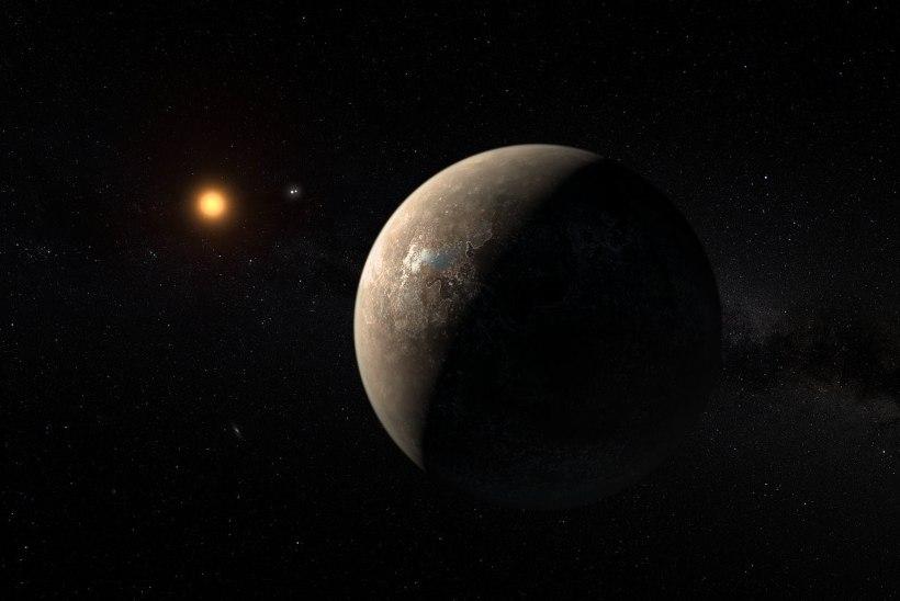 Augustis Päikesesüsteemi naabrusest leitud planeet muutub aina põnevamaks. Selle pinnal laiub ilmselt ookean!