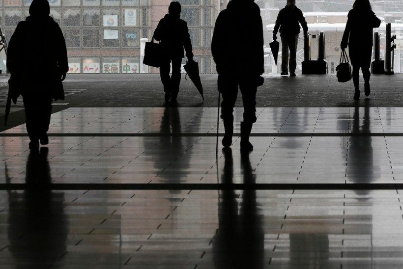 Iga viies jaapanlane riskib surra ületöötamise tagajärjel
