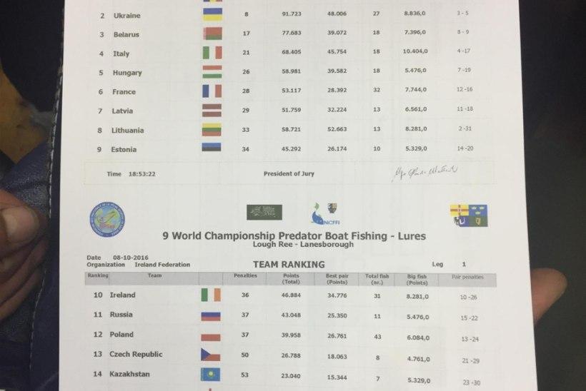 Iirimaa MMi päevik: esimene võistluspäev