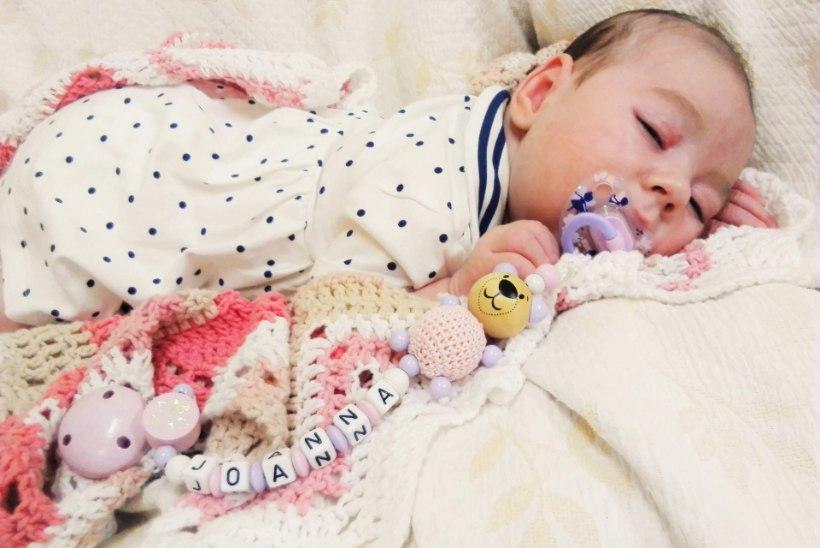Sünnitraumaga kolmekuune tirts saab annetajate toel eluks vajalikud abivahendid