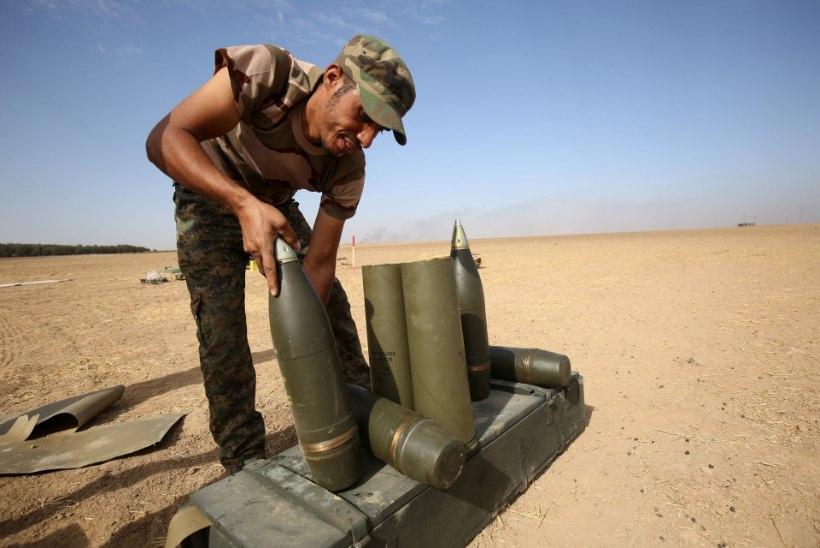 FOTOD | Iraagi valitsusväed tungivad Mosulisse, Islamiriik avaldab ägedat vastupanu