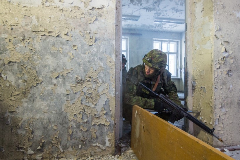 New York Times käis Türil: Väike Eesti treenib Venemaa hirmus vabatahtlikke sõjamehi