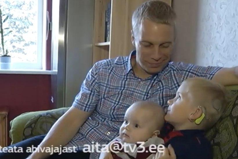 """TV3 VIDEO   """"Inglite ajast"""" abi saanud väike Sander sai kuuljaks!"""