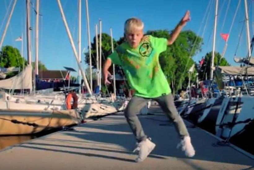 VIDEO   Vaata seitsmeaastase Jesperi tantsuvideot NOËPi muusikaga