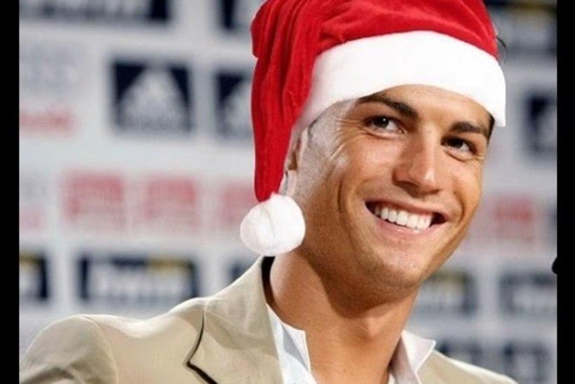 """VAHVA JÕULUVIDEO   """"Üksinda kodus"""" uues kuues: kuidas käitub Cristiano Ronaldo, kui ema ta koju unustab?"""